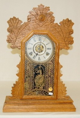 Antique Gingerbread Kitchen Clock