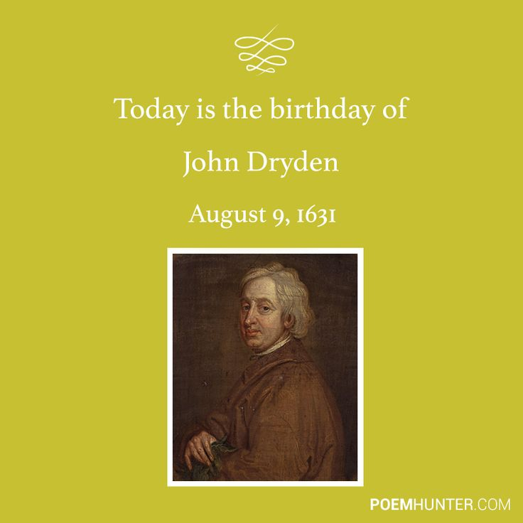 a biography of john dryden a great english poet dramatist translator and critic John dryden : dramatist, satirist, translator new york: ams press, 1988 gelber, m w the just and the lively: literary criticism of john dryden john dryden the poet as orator glasgow: jackson, son, 1963 van doren, mark john dryden: a study of his poetry new york: henry holt.