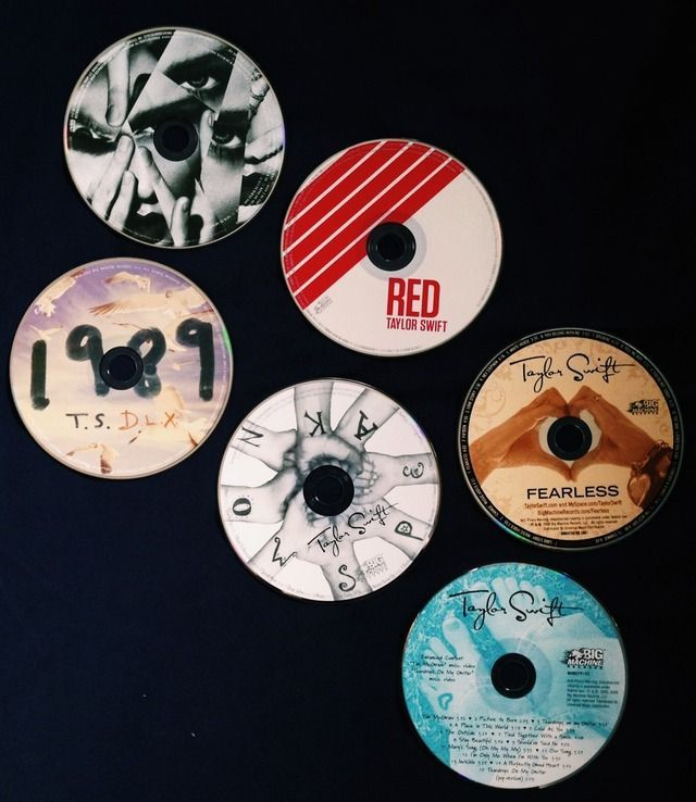 Taylor Swift, Fearless, Speak Now, Red, 1989, & Reputation!