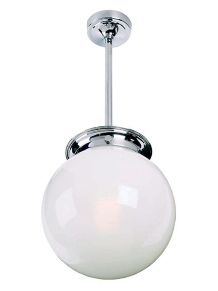 Lefroy Brooks Classic large globe drop ceiling light, Lefroy Brooks drop ceiling light - Holloways of Ludlow