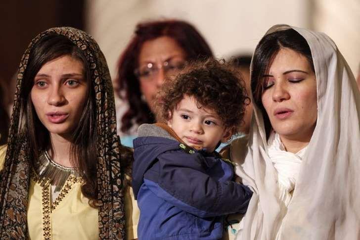 Koptyjscy chrześcijanie w Egipcie