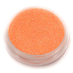 Fluorescent Orange  | CHROMA VEGAN  COSMETIC GRADE GLITTER www.chromabodyart.com