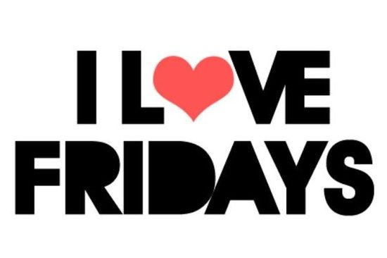 We love Fridays too, have a great weekend! #FinallyFriday