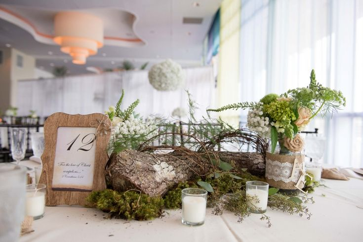 wooden frames for table numbers