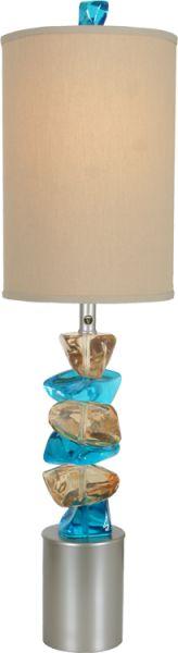 Rocky Road - Table Lamps - VAN TEAL