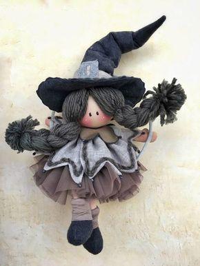 #Streghetta#Halloween#feltro e pannolenci/❀~❤~❀