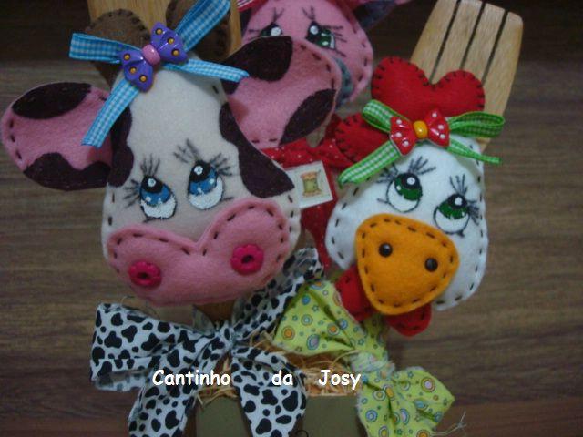 Adesivo Impressão Digital ~ 13 melhores imagens sobre colher de pau decorada no Pinterest Blog, Fotos e Vaca
