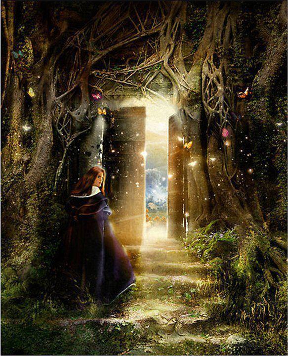 393 best portals of imagination images on pinterest for Secret fairy doors by blingderella
