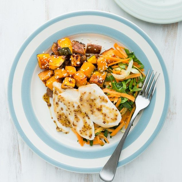 Keep some chicken plain for fussy eaters.