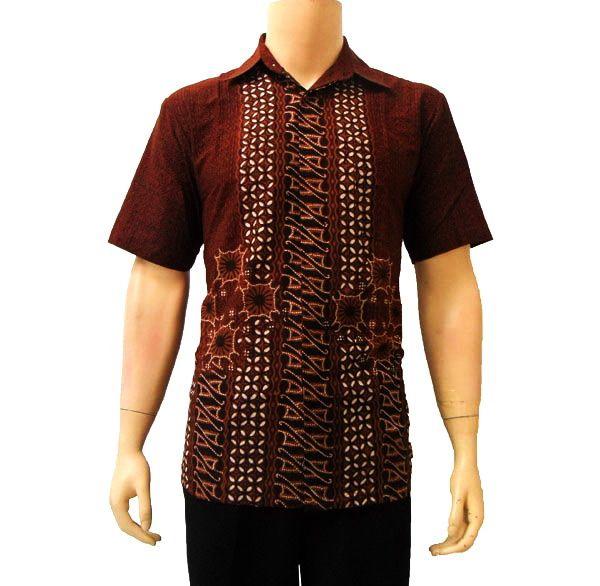 Kemeja Batik Pria Sutra: Kemeja Batik Pria Modern Pekalongan