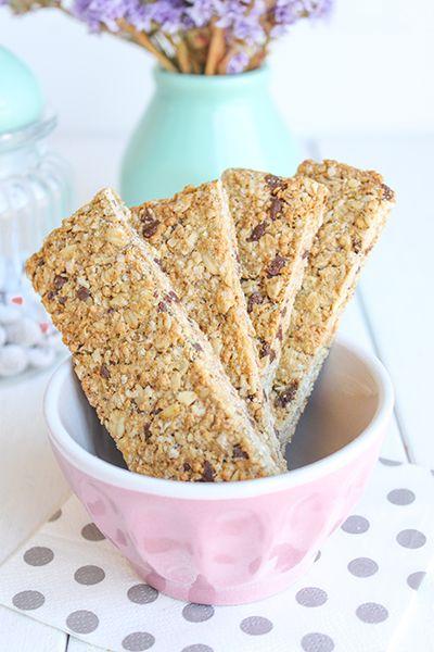 Cómo hacer barritas de cereales » Galletilandia