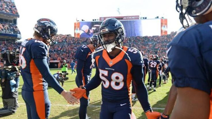 Von Miller is excited about his contract with the Denver Broncos and posted a hilarious video on Twitter;