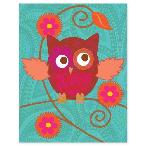 Adorable Owl Canvas/Framed Picture.