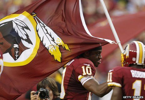 Washington Redskins:  Time to Change the Name?  By Tom Geoghegan for BBC News  Race, Popular culture