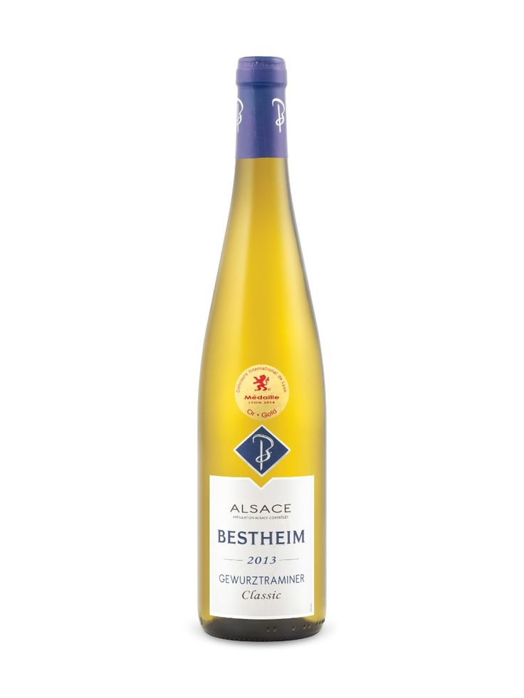 Bestheim Classic Gewurztraminer 2013 Alsace A.C., France Natalie's Score: 90/100 http://www.nataliemaclean.com/wine-reviews/bestheim-classic-gewurztraminer-2013/218650?325 #wine