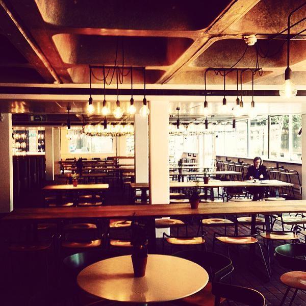 "BENUGO sur Twitter : ""Barbican Kitchen is now open at @BarbicanCentre. Come say hi! #pizza #salad #sandwiches #newspace http://t.co/RtZrjFyU64"""