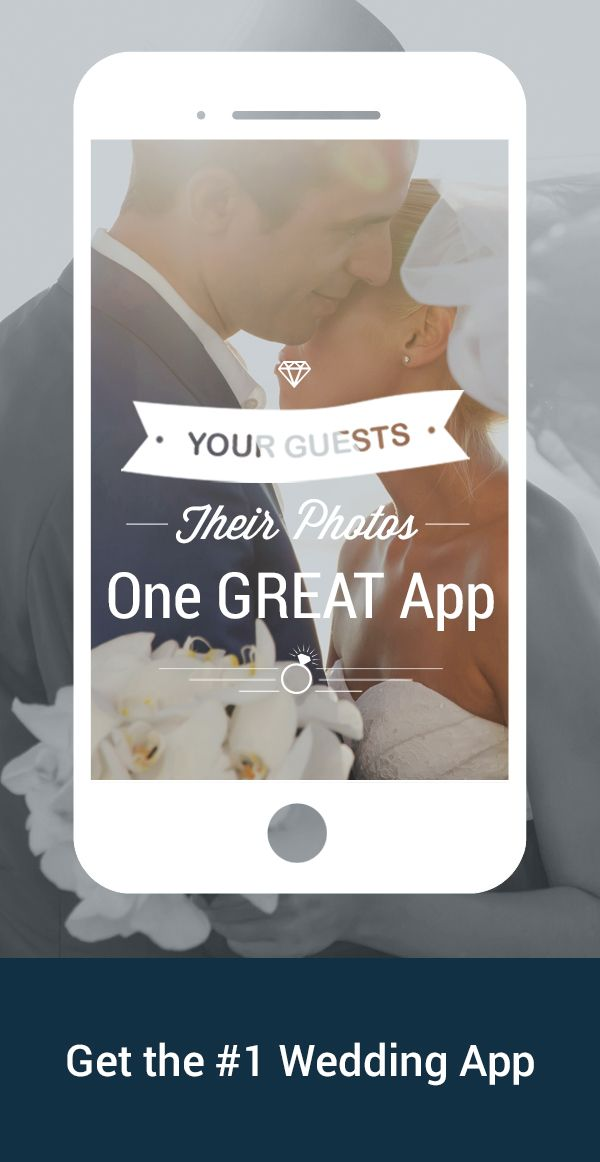 Download for free! Your wedding guests will take a lot of photos. Ever wonder how you might see them all? WedPics is the #1 photo & video sharing app for weddings! Available on iPhone, Android and Web (for those using digital cameras). Try it today!