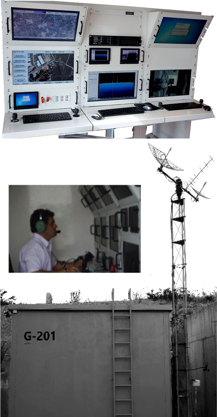 G-201 is a customised #GroundControlStation (GCS) ready to integrate on any kind of shelter/container or building facilities. more info : http://goo.gl/uy3if7