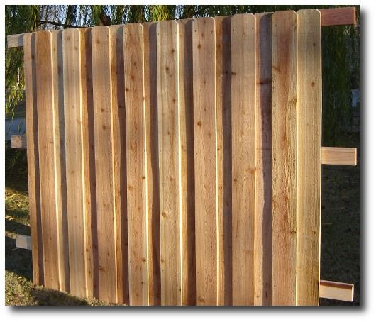 Privacy Fence Panels | Wooden Fence Panels locally built