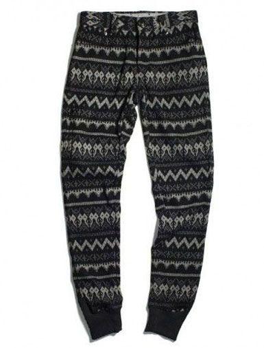 Now Trending: Luxe Men's Sweatpants. 11after11 Aztec-Pattern Skinny Sweatpants