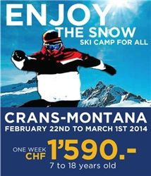 We want to invite you for a winter camp at Collège du Léman http://www.cdl.ch/en/student-life/winter-ski-camp-ski-weekends