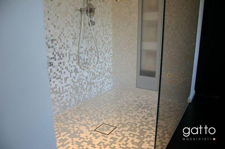 Badkamer Mozaiek Wit : Wit gouden amsterdam zuid gatto mosaicisti