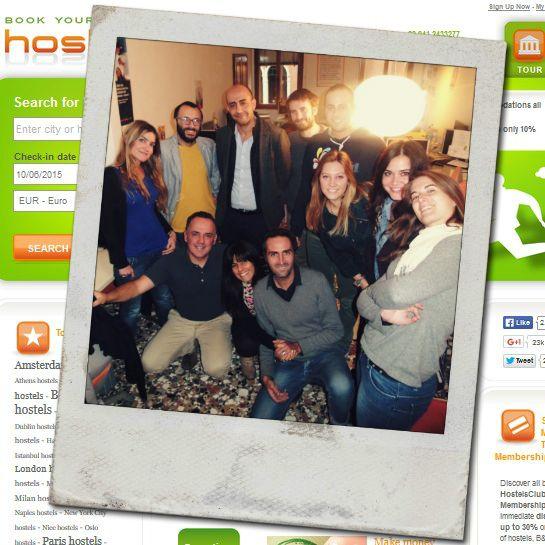 Dietro a un grande sito, c'è sempre un grande staff! ;) Il nostro team nell'ufficio di Venezia