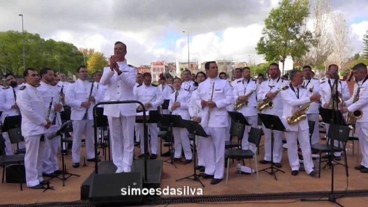 O ALCACHE  - CONCERTO PELA BANDA DA ARMADA... Saudades do meu amigo Maestro José Veloso... <3 :-)