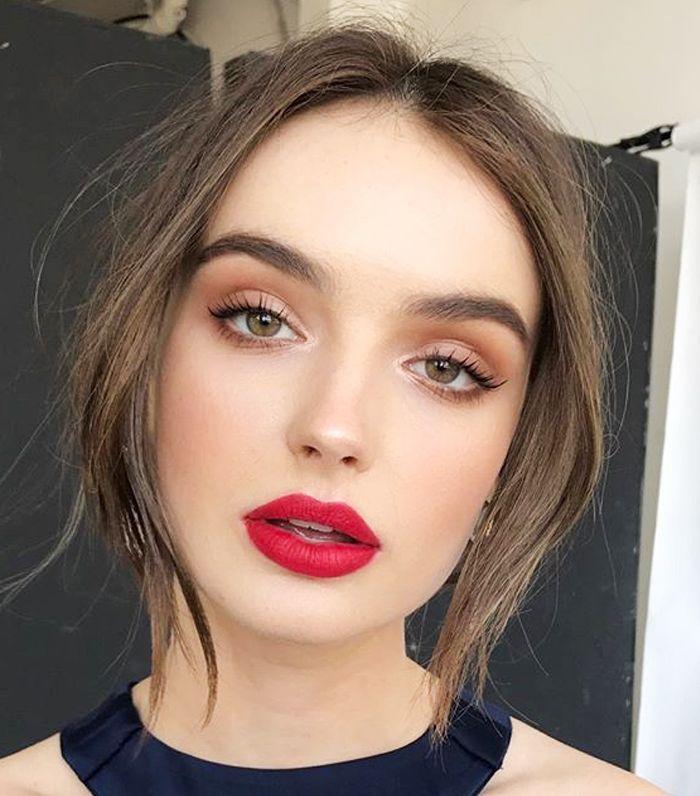 11 Holiday Makeup Looks auf Pinterest für den Dezember