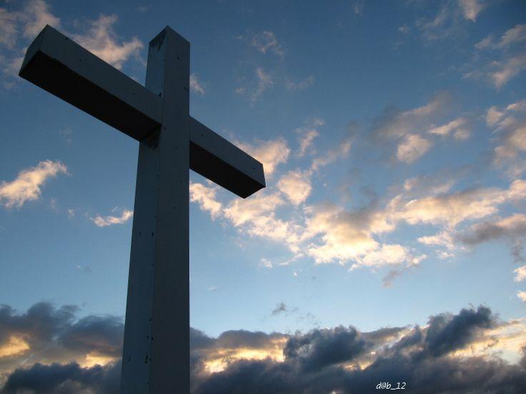 Il cielo visto dalla cappella del SS.Crocifisso - San Pietro al Tanagro (SA)