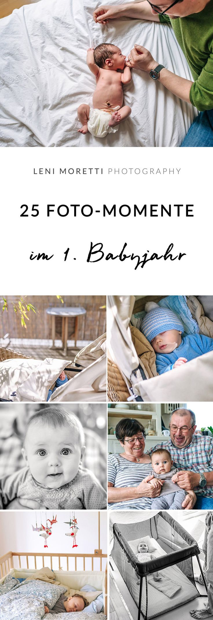 25 photo moments in the 1st baby year, which you should not miss – Fotografie