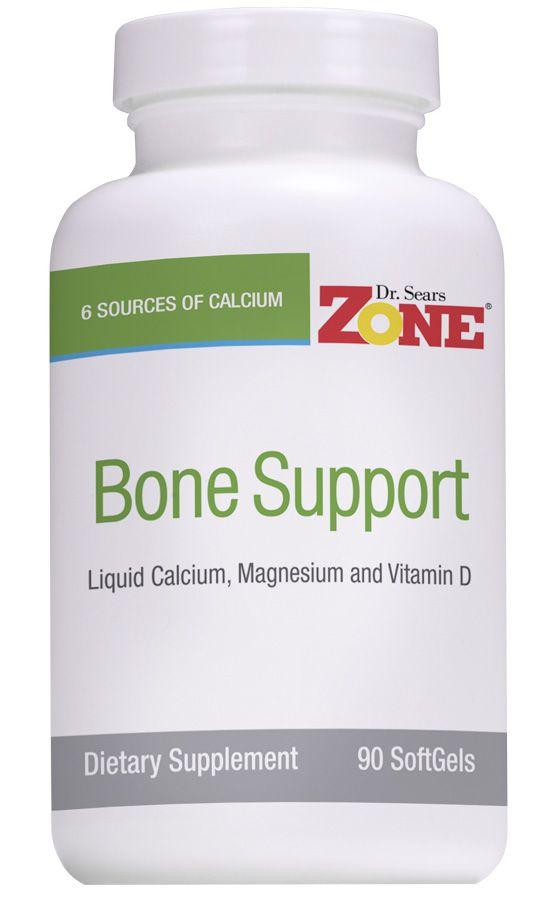 Improve bone strength and bone density with this proprietary calcium and magnesium liquid softgel supplement.