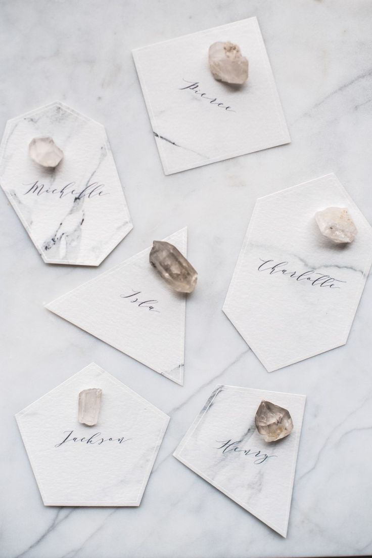 Super cute idea for cutting place cards... then I'll stick 'em in my corks... OR... my corks can be my favors and I can cut out like a thank you note in these shapes. DONE!!!!