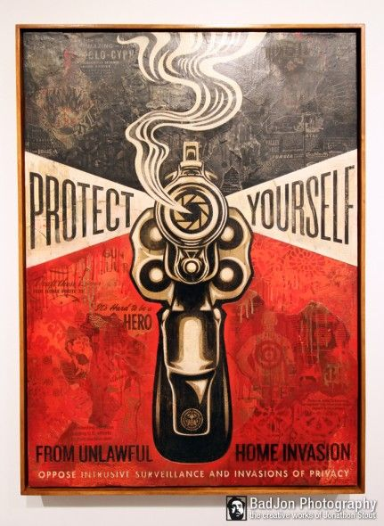 Shepard Fairey - Protect Yourself