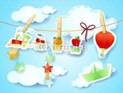 #Transportation, illustration for kids #vector #stockimage