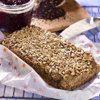Pan de Quínoa y Chía sin Gluten