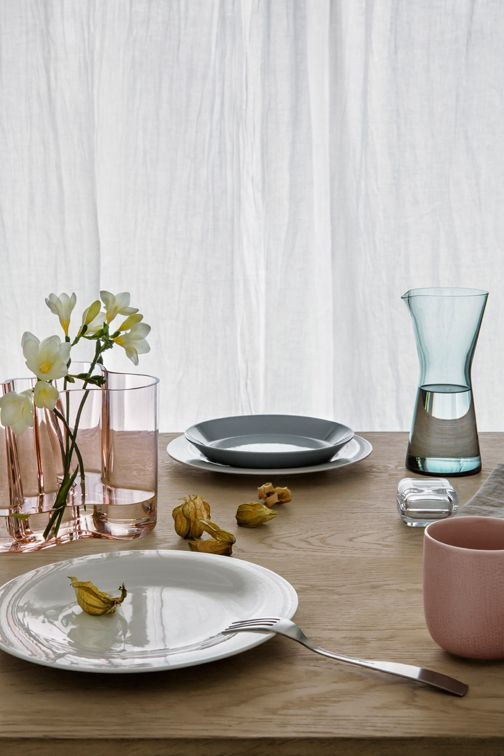 Make up your own set of Sarjaton china Iittala. Available at Geoffrey Drayton Epping. All pieces are available to buy individually.