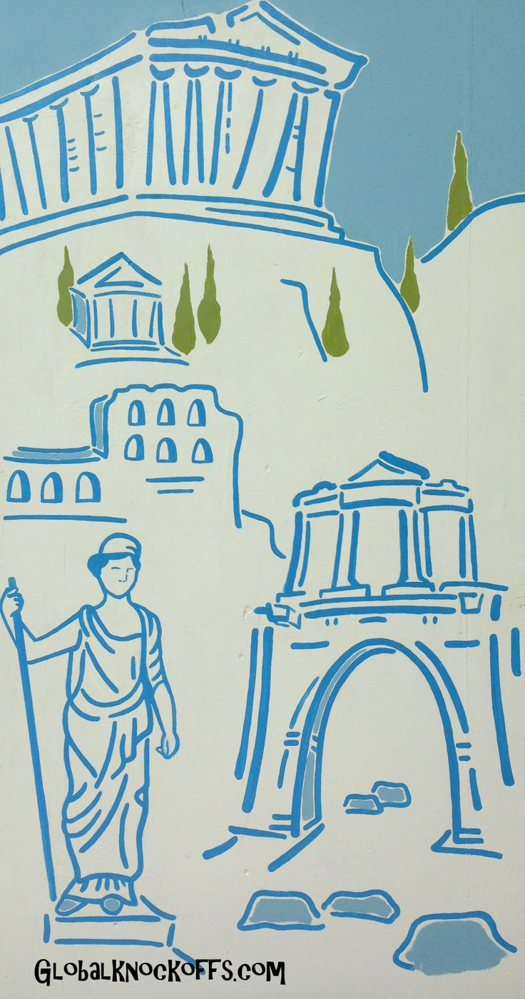 Monuments of Athens art