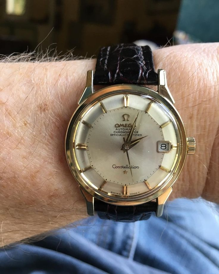 """Fronm Bill Mumy's Instagram: """"Treated myself to this 1967 Omega Constellation. Summer of Love. When it was new, I was visiting many constellations while filming Lost in Space. ✌"""