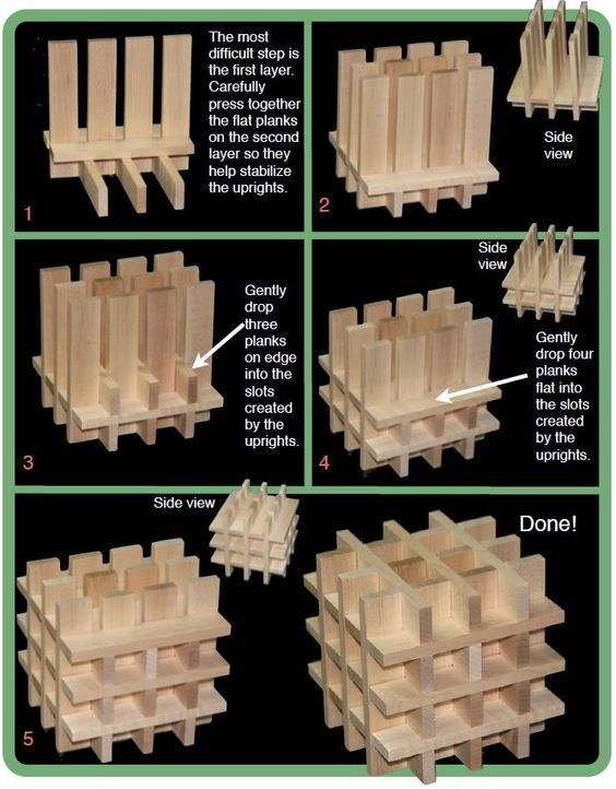 """Like Lego, it can take a little guidance to appreciate the possibilities of Keva. Sure, you can stack them into Jenga-like towers, but you can also do so, so much more. That's what we're going to do today: make something that you might not come up with on your own, namely this 'woven' box."":"
