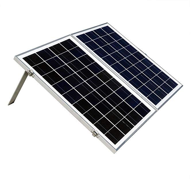 Eco Worthy 40w 12v Solar Charger Kits Portable Folding Solar Panel Module With 3 Amp Charge Controller For Rv Boat Solar Panels Solar Panel Kits Solar Kit