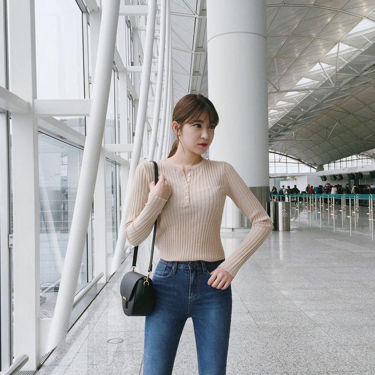 ♡クルーネックリブトップス♡ #レディースファッション #ファッション通販 #ファッショントレンド #新作 #最新 #モテ服 #韓国ファッション #韓国レディース通販 #ootd #wiw  #fashionaddict #womensfashion #fashion  https://goo.gl/wPOBSG