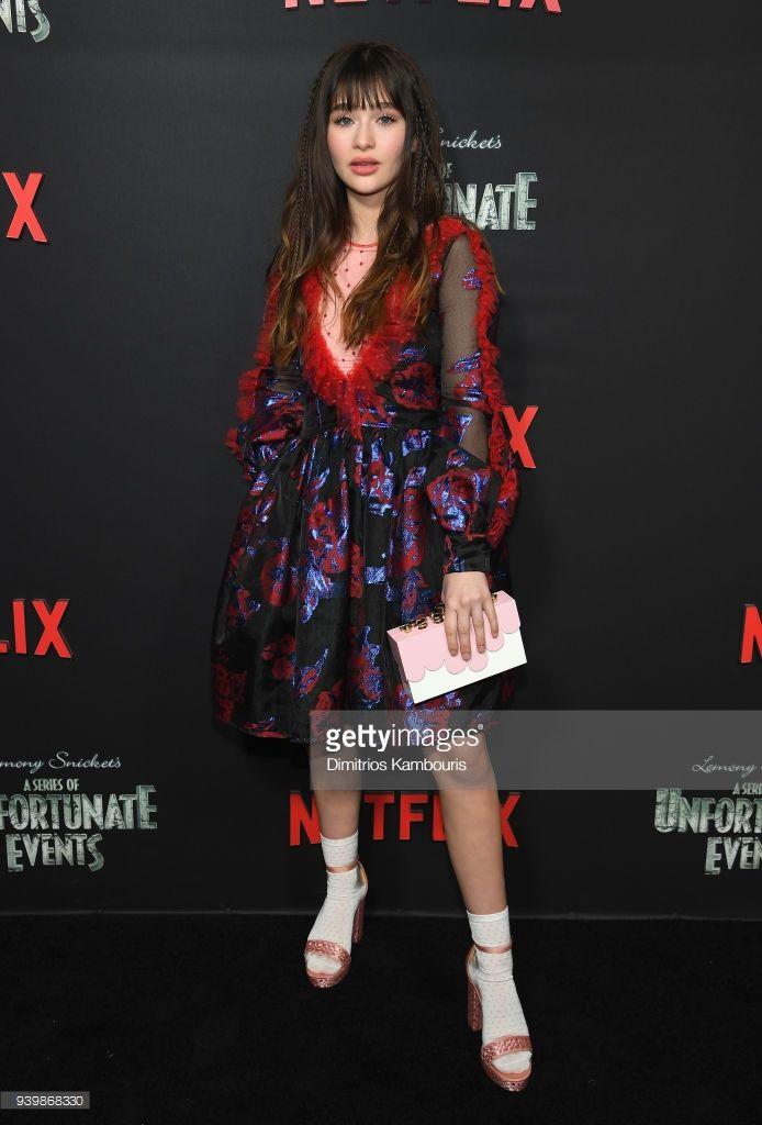 Malina Weissman Attends The Netflix Premiere Of A Series Of