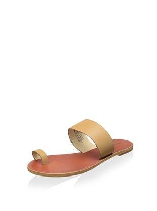 42% OFF Matiko Women's Bonny Flat Toe Ring Sandal (Nude)