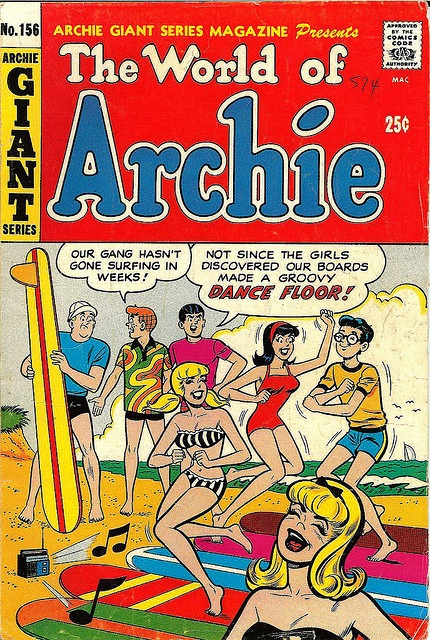 Archie Giant Series #156 - The World of Archie, 1968 comic book