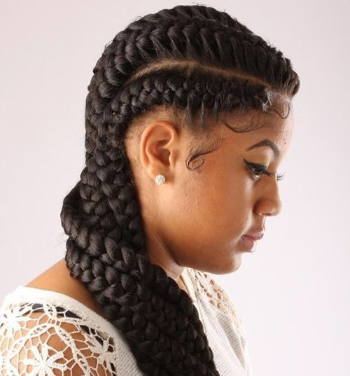 black hair braid twist styles 60 inspiring examples of goddess braids braids 5944