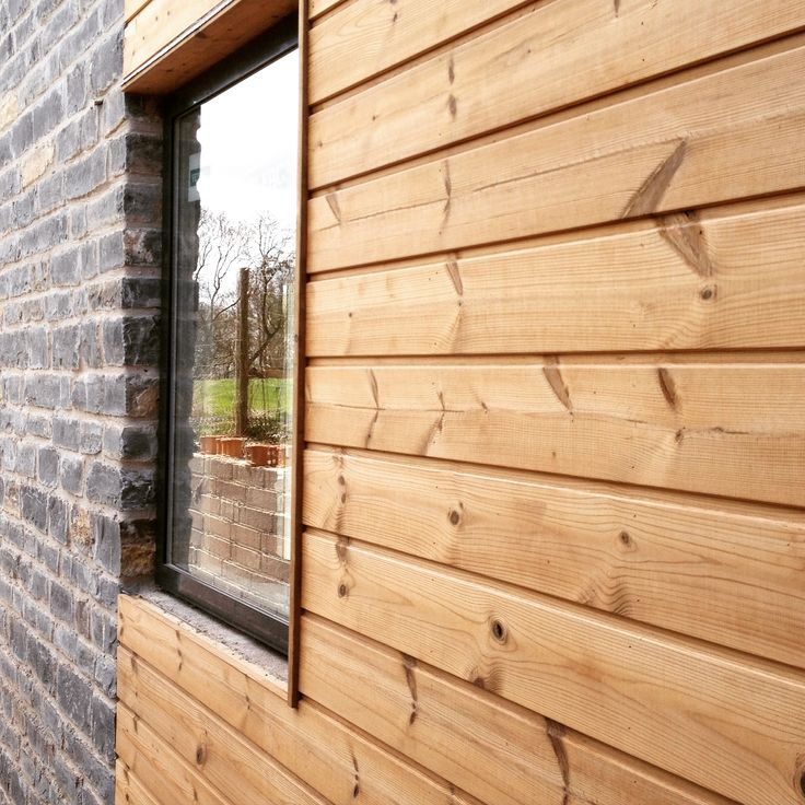 7 best gevel images on pinterest wood balcony and cladding for Window cladding