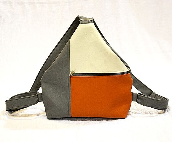 Backpacks – Backpack with front zipper pocket. – a unique product by Loutik on DaWanda