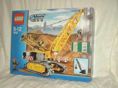 LEGO-CITY-7632-CRAWLER-CRANE-NEW-AND-SEALED