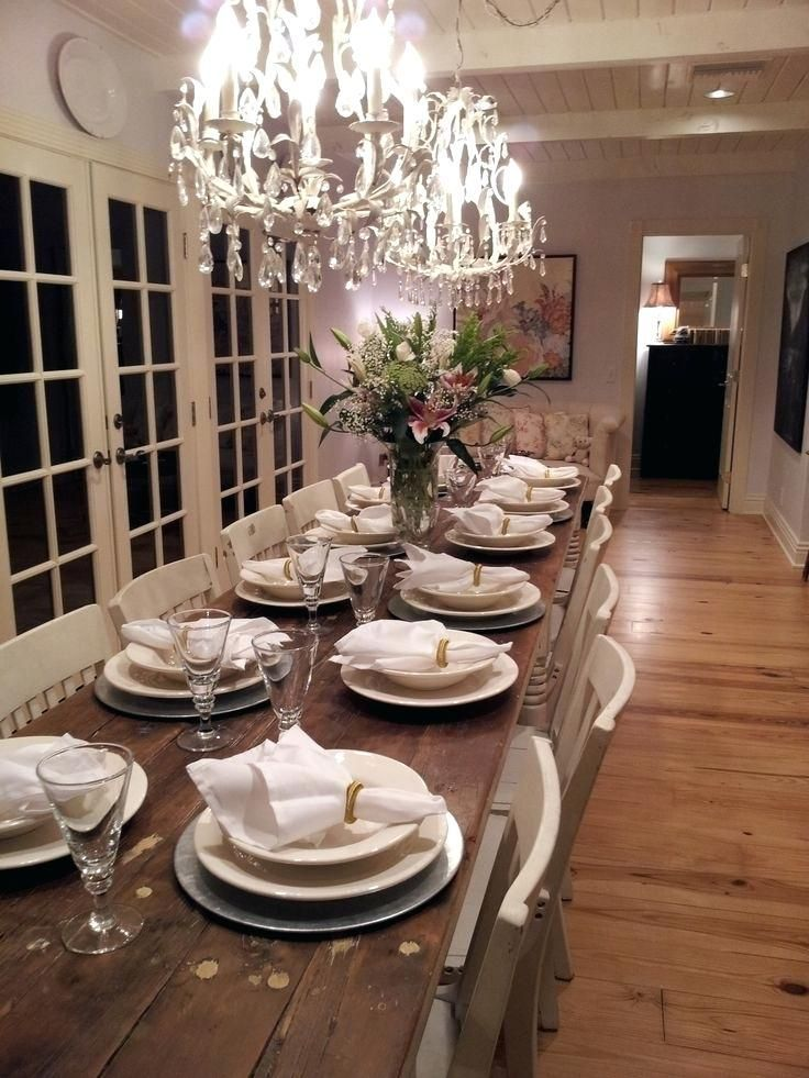 Lovely Large Dining Room Table In 2020 Long Dining Room Tables